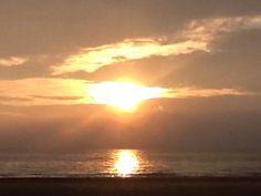 Sunset at Castricum aan Zee