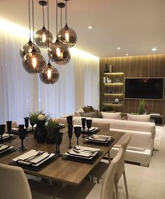 Ambientes integrados by @claudiaalbertiniarquitetura. Amei@pontodecor Snap: hi.homeidea http://ift.tt/23aANCi #bloghomeidea #olioliteam #arquitetura #ambiente #archdecor #archdesign #cozinha #kitchen #arquiteturadeinteriores #home #homedecor #pontodecor #lovedecor #homedesign #instadecor #interiordesign #designdecor #decordesign #decoracao #decoration #love #instagood #decoracaodeinteriores #lovedecor #architecture #archlovers #inspiration #project #inspiracaododia