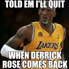 Lol Lies, Derrick Rose is coming back next year and he ain't quitting anytime soon