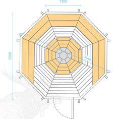 Nordic SPA - Grillkota 6,9m² - Ihr Versandhandel für Badefass, Fasssauna und Grillkota