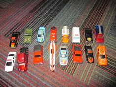 LOT OF 16 DIECAST & MORE CARS & TRUCKS, VARIOUS SCALE,SOME MATCHBOX, GUC #VARIOUS