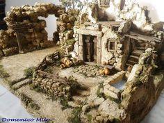 Christmas Manger, Christmas Nativity Scene, Nativity Scenes, Portal, Diorama, Ideas Para, Cribs, Christmas Decorations, Births