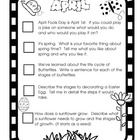 September-May Writing Prompt Checklists for student binders/folders.  Comes with Directions, Writers Checklist And monthly themed topics.  Please l...