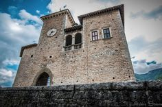 Castello Brancaleoni - the 13th Century Castle in the idyllic farming village of Piobbico
