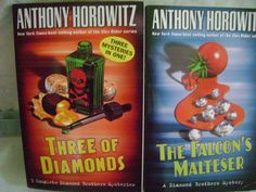 Diamond Brothers Mysteries Anthony Horowitz Lot of 2 PB's; 4 Stories Ages 9-12