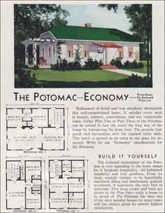 1951 Aladdin Potomac-kit homes. These are pretty nice homes.....I'm pretty sure this is my current home!!!