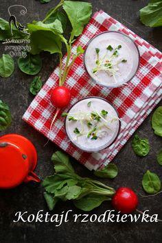 Kulinarne przygody Gatity: Koktajl z rzodkiewką