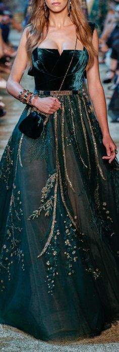 Elie Saab at Couture Fall 2017