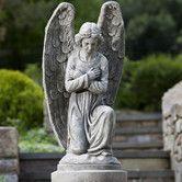 Found it at Wayfair - Kneeling Angel Statue