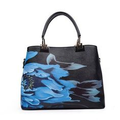 ba542d955b Women Fashion Casual Tote Bags Top-handle Bag Ladies Shoulder Bags Chinese  Style Floral Print