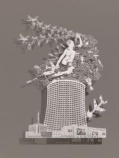 BOVEY LEE, paper art