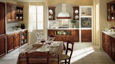 Margot kuchyň tmavá / rustic kitchen
