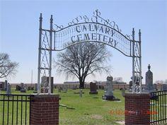 Calvary Cemetery Rural Columbus Nebraska