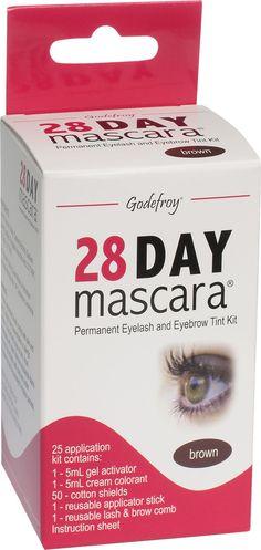 28 day mascara/ permanent eyelash tint! Vermont Country Store!