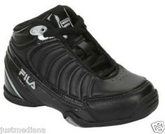 NWOB -Toddler Boys Shoes FILA DLS GAME - Black Basketball Sneakers - SZ 6 - Sold  July 20, 2013