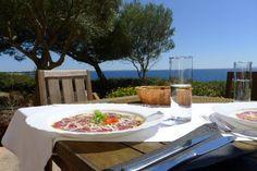 Zauberhaftes Mallorca Restaurant: Mirador de Cabrera. Gehobene Küche in traumhaftem Ambiente zu erschwinglichen Preisen.