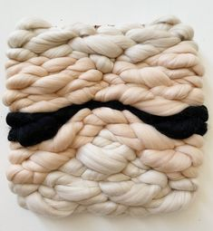 One hundred sixteen — Meghan Shimek Woven Wall Hanging, Merino Wool Blanket, Art, Craft Art, Kunst, Gcse Art, Art Education Resources