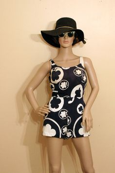 1960s Vintage Catalina Bathing Suit by TheModPasse on Etsy