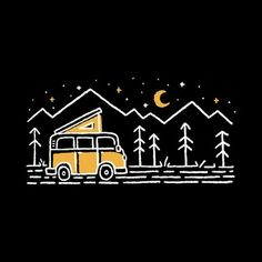 Forest Silhouette, Outdoor Logos, Forest Camp, Nature Adventure, Camping And Hiking, Outdoor Recreation, Badge, Cricut, Graphics