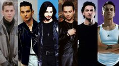 Dave Gahan ~ OMG what a baby-faced cutie he was....who knew he would grow into one of the sexiest men on the planet?  *sigh*
