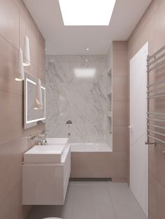 Attic Bathroom, Bathroom Interior, Modern Luxury Bathroom, Bathroom Design Small, Corner Bathtub, Sweet Home, Room Decor, House Design, Bedroom