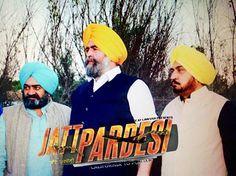 #JaspreetSinghAttorney at law USA , #SurinderShinda and #BobKhehra in a movie scene in up coming Punjabi movie #JattPardesi. Coming soon