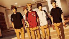 I liked this team a lot, kinda wish they were more important in the show. Johzenji and Karasuno -Haikyuu!!