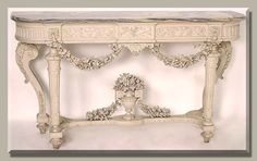 Antique of the Week ~ Louis XVI Console