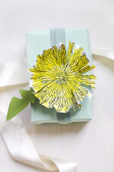 Printable Dandelion Cards
