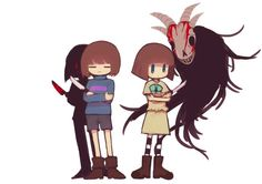 The fact that people are making art for Fran Bow and Undertale crossovers, it fills me with determination. Best Crossover, Fandom Crossover, Undertale Fanart, Undertale Au, Bow Games, Bendy Y Boris, Bow Art, Little Misfortune, The Ancient Magus Bride