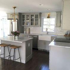 79 Best Farmhouse Gray Kitchen Cabinet Design Ideas