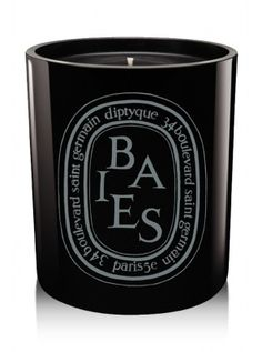 "Diptyque Baies ""Noire"" ($90) ""I rotate through a number of candles by my bedside, but the one constant is always this woodsy scent from Diptyque. Lighting it fills my room with its smoky blackcurrant leaf and rose scent instantly, putting me in a happy, zen-like state of mind."""