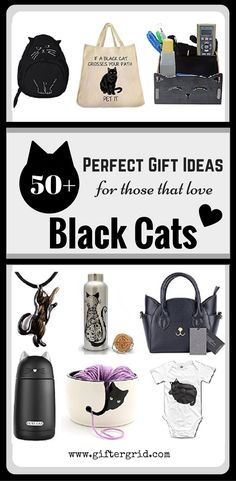 The ultimate gift list for those that have or love black cats dearly. There are over 50+ gift ideas for all ages and include both fun and practical gift ideas. There are even Halloween and Fall themed suggestions as well! This page has a direct link to even more gift ideas for all cat lovers too that include DIY and craft ideas, gifts of experiences and charitable causes.