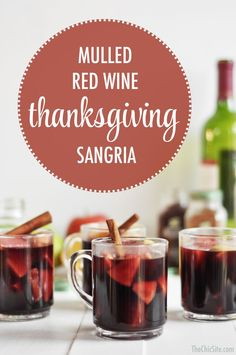 Mulled red wine Thanksgiving sangria. Phenomenal when made with Missouri Chambourcin red wine. SO GOOD!