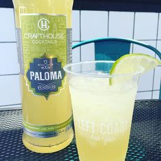 Cheers to the weekend!! Come grab a seat on the patio and try a refreshing Paloma from @drinkcrafthouse