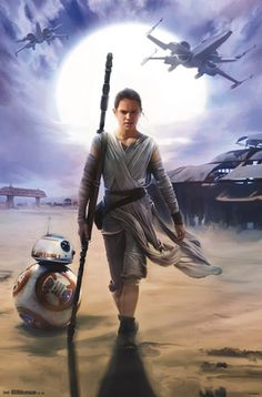 Star Wars The Force Awakens - Rey Poster at AllPosters.com