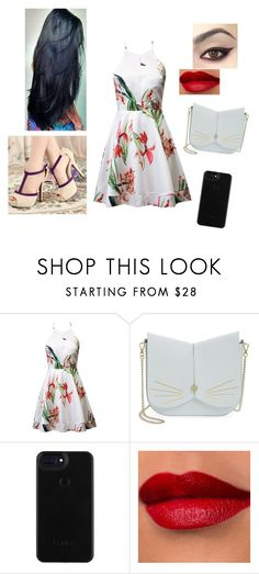 """""""Cine with your boyfriend"""" by michelykamely ❤ liked on Polyvore featuring Ted Baker"""