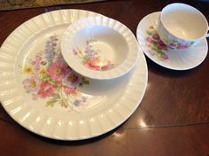 This is my Edwin Knowles set of china.