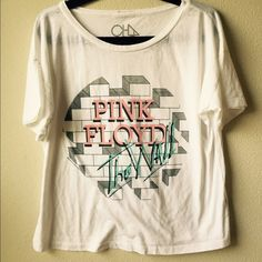 Pink floyd the wall tee By chaser, boxy fit. Excellent used condition. Name written inside shirt. Obviously not noticeable when worn Chaser Tops