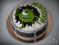 Mike Wachowski Cake - Torta de Mike Wachowski