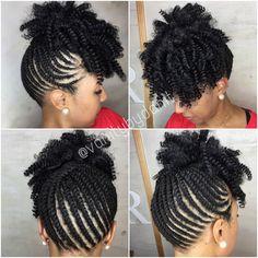 Twist up with crochet curlkalon curls by vanity by DaniT