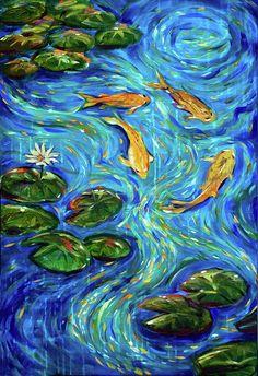 The Rhythm Of Life Painting  - The Rhythm Of Life Fine Art Print