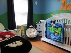 Nursery designed by Megan and Brent Perry