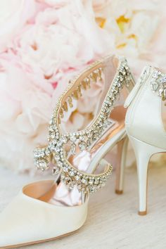 Featured Photographer: Dana Cubbage Weddings; Wedding shoes idea.