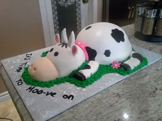 3D Cow Cake by L&L Cakes and Chocolates