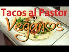 Tacos al Pastor Veganos / Vegan Tacos al Pastor: Soya y Piña / Soy and Pineapple ... Yummy!  MyCupcakelandia
