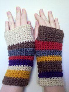 <3 <3 Crocheted Doctor Who Inspired Tom Baker by craftykittycrochet