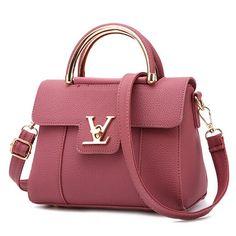 49e42cdd7 2016 New Women Small Leather Shoulder bags Girls Crossbody Messenger bag  Ladies Handbag and Purse Femme