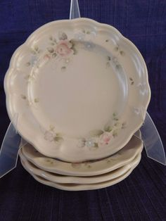 Pfaltzgraff Tea Rose SALAD PLATE (s) multiple *have more items to this set* USA #PFALTZGRAFF