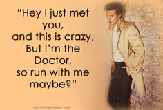 doctor who pick up lines - Google Search